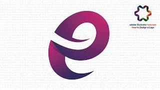 Adobe illustrator CS6 - Create Letter Logo-Design | Custom-Letter Logo Tutorial