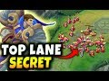 watch he video of THE SECRET TO WINNING TOP LANE! USE THIS SIMPLE TRICK TO WIN EVERY LANE PHASE! - League of Legends
