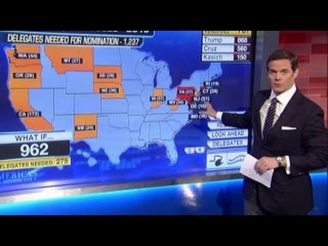 Bill Hemmer breaks down Donald Trump delegate math - YouTube
