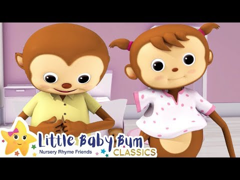 Getting Dressed Song + More Nursery Rhymes & Kids Songs - ABCs and 123s | Little Baby Bum
