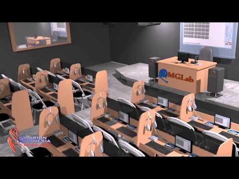 Laboratorium Bahasa tipe Computerized AAC FLEX PLUS