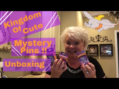 Disney Mystery Pin Unboxing !! I Pulled My Favorite One !! Kingdom Of Cute