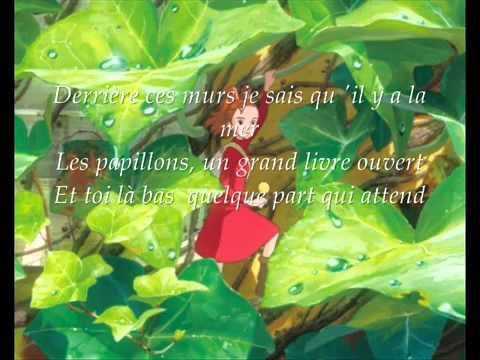 Arrietty's song (french).
