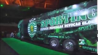 Apresentação novo Autocarro Sporting CP.