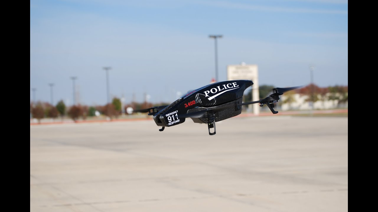AR Drone Modification For Law Enforcement UAV