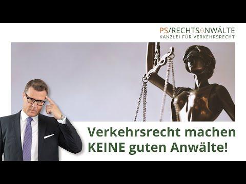 Verkehrsrecht Machen Keine Guten Anwälte! | PS/Rechtsanwälte | Fachanwälte Für Verkehrsrecht
