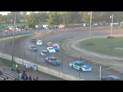 Street Stock Heat Race #1 at Crystal Motor Speedway on 07-07-2018