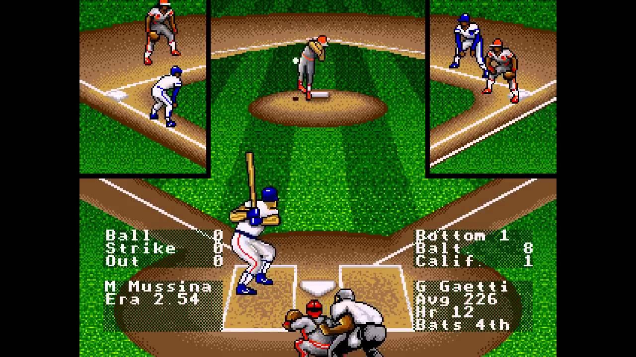 Rbi Baseball 93 Sega Genesis Youtube