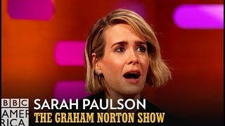 Sarah Paulson's Accidental Madonna Photobomb - The Graham Norton Show