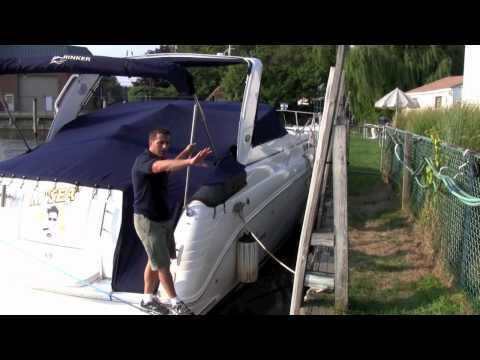 On Board: Preparing A Boat For A Hurricane