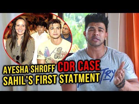 Sahil Khan EXPLOSIVE REACTION On Ayesha Shroff's CDR Scam