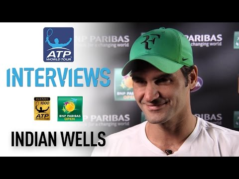 Federer Talks About Indian Wells 3R Win 2017