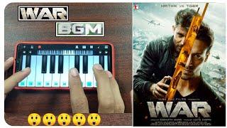 WAR BGM In Piano |War Instrumental BGM | War BGM Instrumental | Hrithik || War