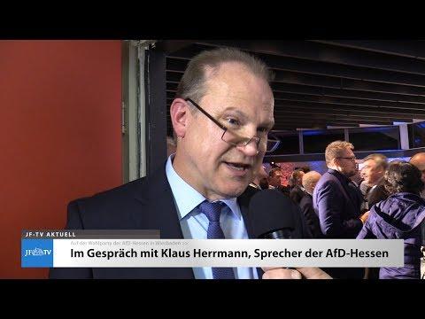 Zur #LTWHE18: Klaus Herrmann - Landessprecher der AfD-Hessen