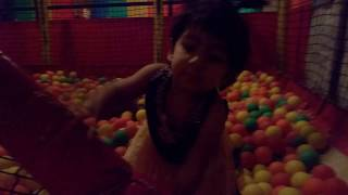 Kids Enjoying in ball pool game | ball pit show for kids indoor playground