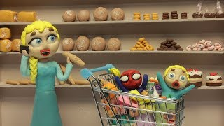 Diana and her friend go to the supermarket 💗 Cartoons For Kids