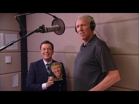 Bill Walton Introduces The Late Show