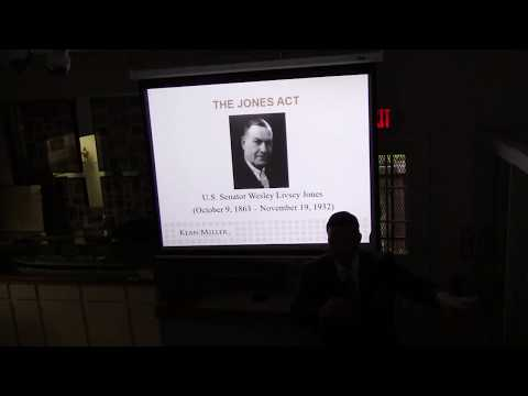 The Jones Act : 100 Years Celebration or Memorial