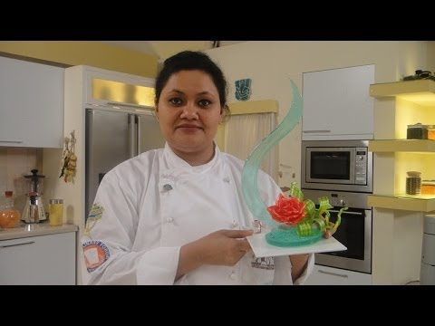 Pulled Sugar Work - by Chef Arti Thapa | Sanjeev Kapoor Khazana