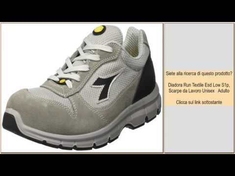 Diadora Run Textile Low S1p Scarpe da Lavoro Unisex Adulto