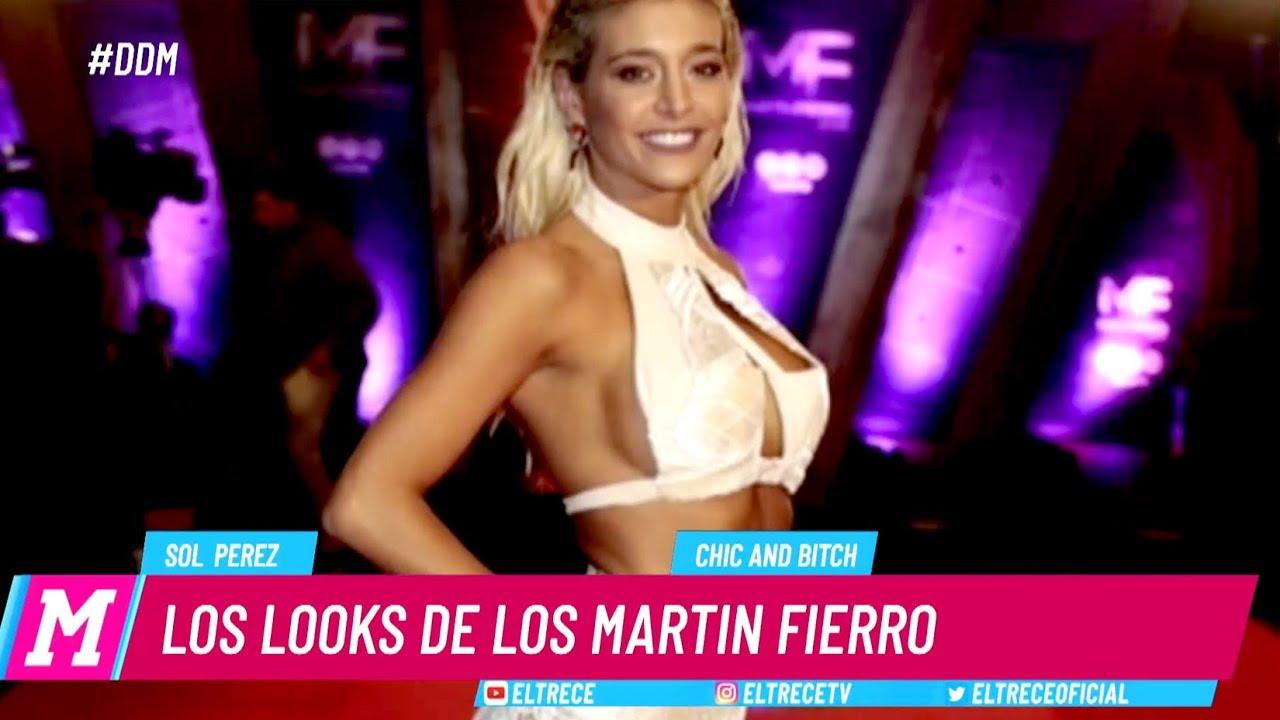 Download El polémico vestido de Sol Pérez en los Martín Fierro 2018