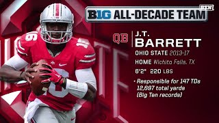 #BTNAllDecade Voters on Why J.T. Barrett Is An All-Decade Team Selection | Big Ten Football