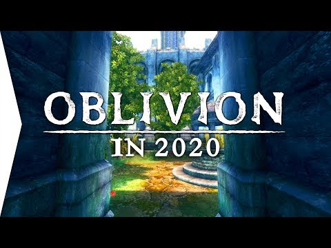 It's Beautiful! ► Oblivion Gameplay With Remastered 2020 Graphics Mods! - The Elder Scrolls IV
