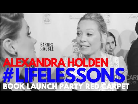 Interview with Alexandra Holden at Life Lessons from a Total Failure Book Launch Party