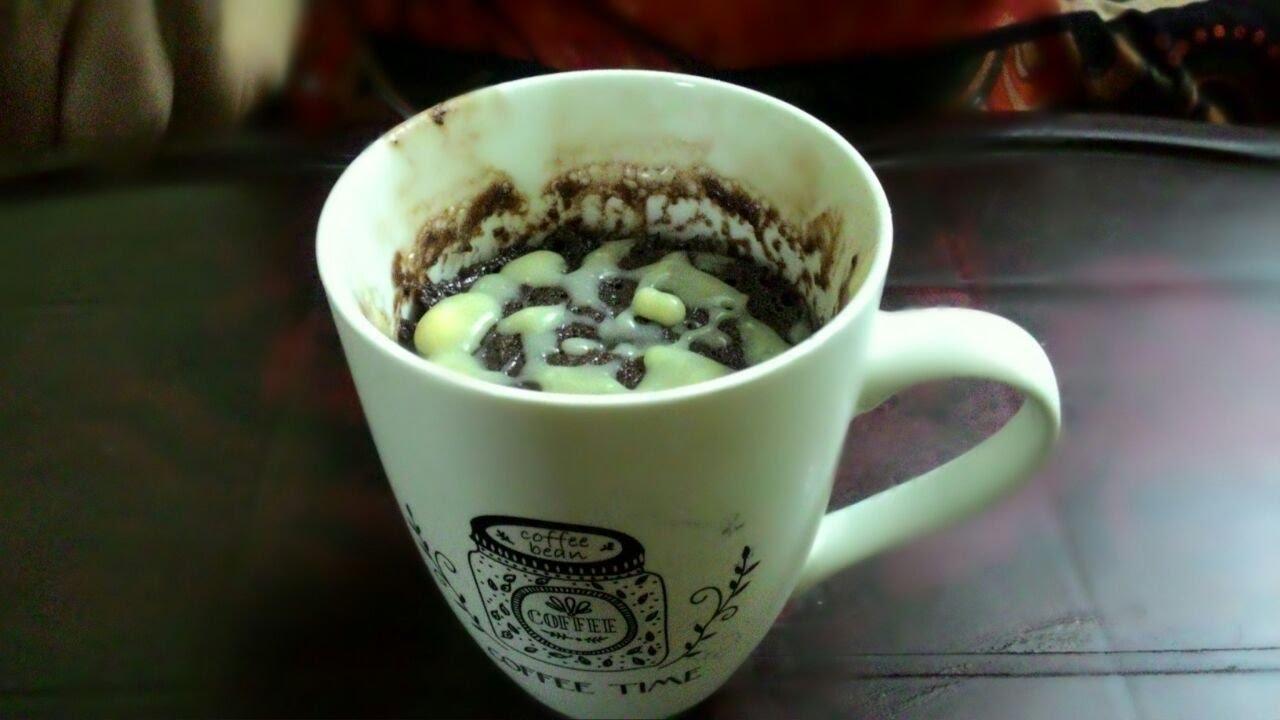 Microwave Chocolate Mug Cake Eggless