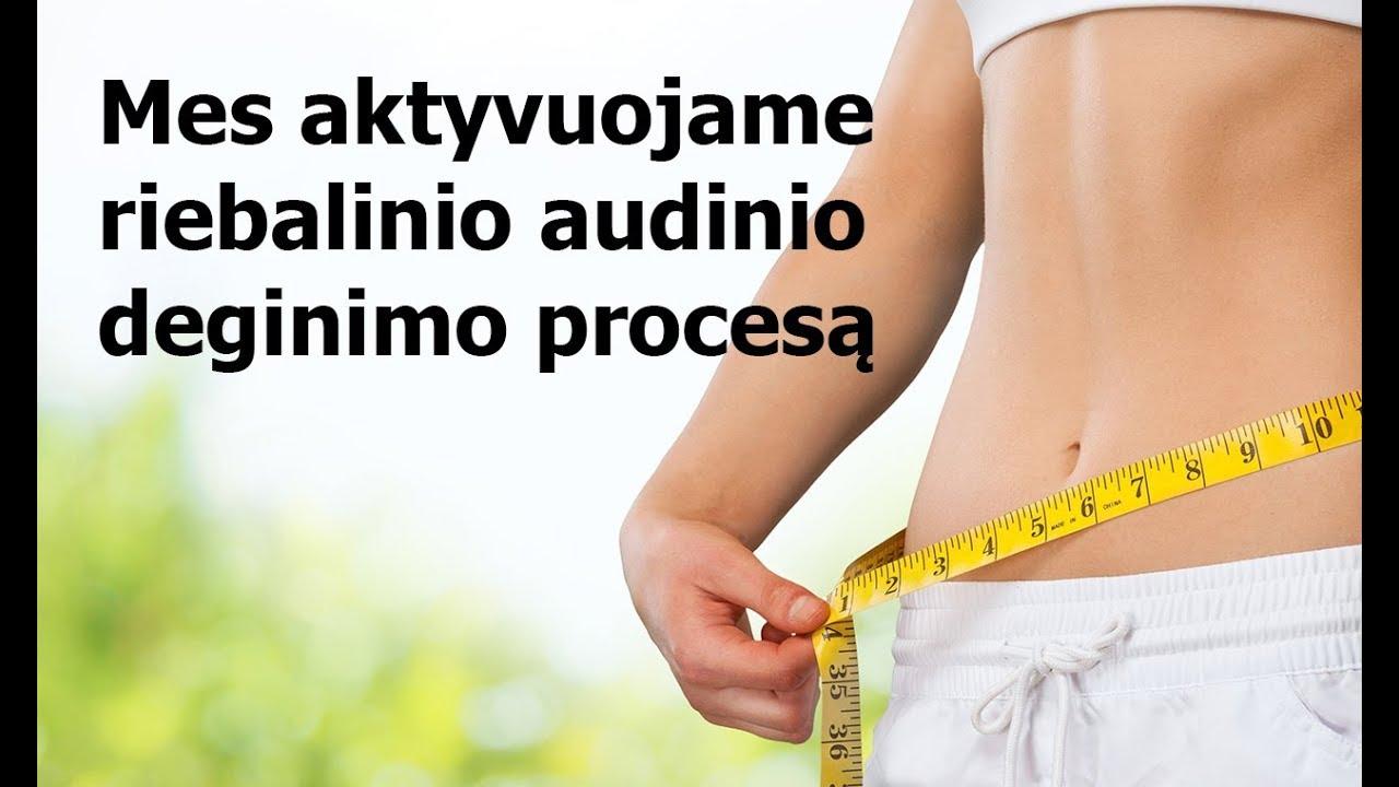 svorio metimo dulutas