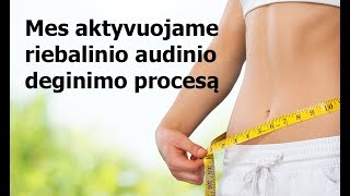 kūno riebalų svorio sumažėjimas