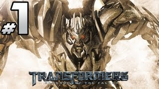 Transformers Revenge Of The Fallen - Decepticon Campaign - PART 1 - Starscream Is Boring!