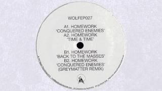 Homework - Conquered Enemies (Greymatter Remix) (Wolf Music, 2014)
