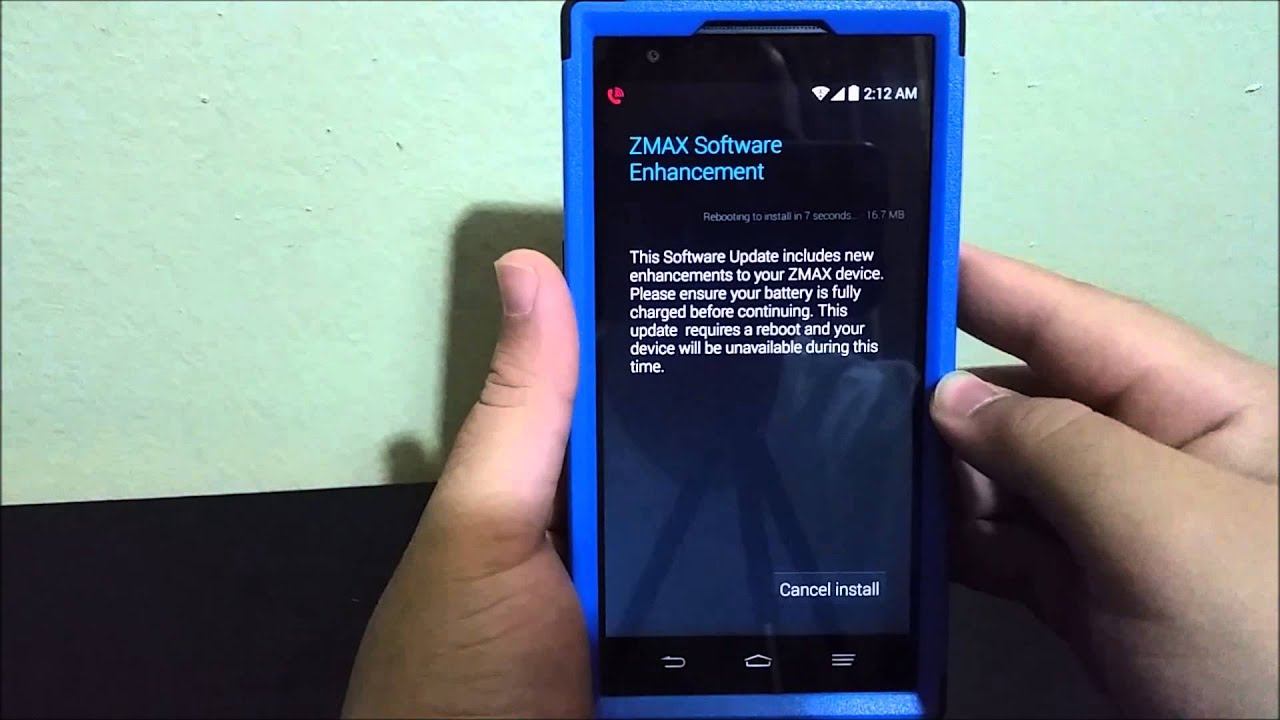 testing zte zmax gps too have