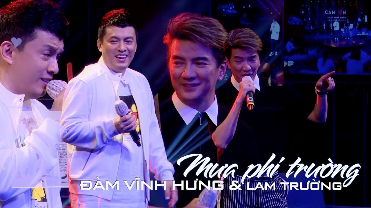 """Đàm Vĩnh Hưng, Lam Trường hoà giọng lần đầu tiên trong bản hit thanh xuân """"Mưa Phi Trường"""""""