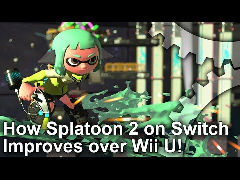 Splatoon 2 Switch Analysis: Resolution, Wii U Improvements And More!