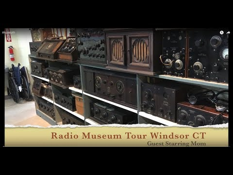 A Tour Of The Vintage Radio And Communications Museum In Windsor CT