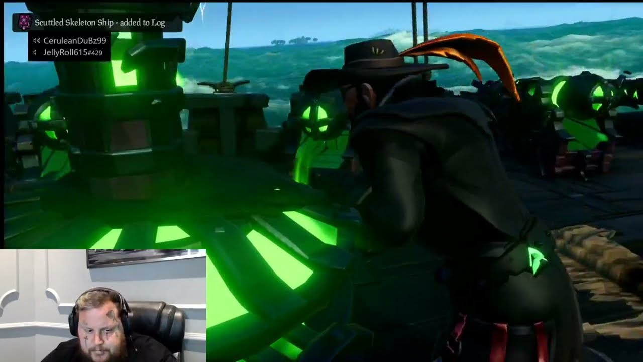Jelly Roll Gaming - First Stream - Sea of Thieves