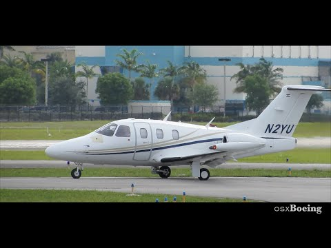 Eclipse Aviation 500 [N2YU] Takeoff Fort Lauderdale Executive FXE