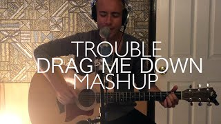 One Direction - Drag Me Down // Taylor Swift - I Knew You Were Trouble Acoustic MASHUP