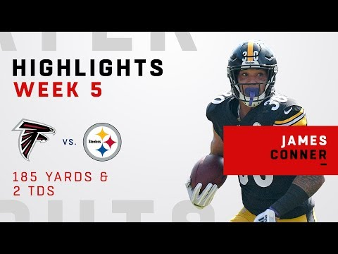 James Conner's 2- TD Day Highlights