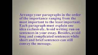 Critical Review Essay