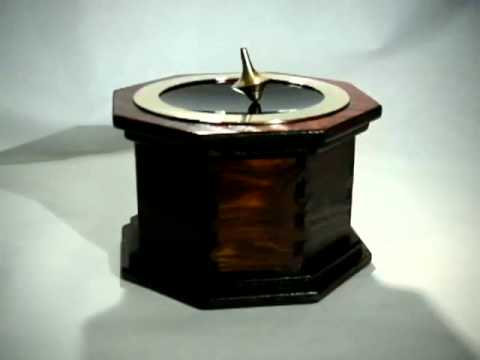 Inception Spinning Top >> Electromagnetic spinning top - Inception inspired toy - YouTube