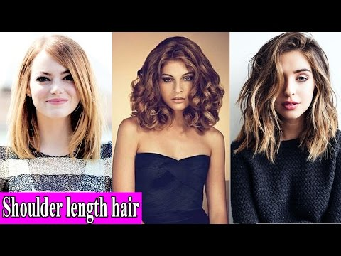 Shoulder length hair, medium hairstyles for women