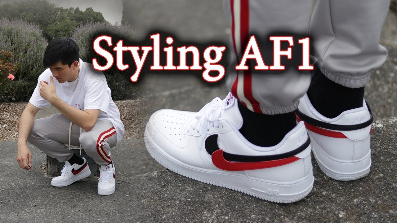 67b31ac5ef7 How to Style Air Force 1 (Swoosh Pack)