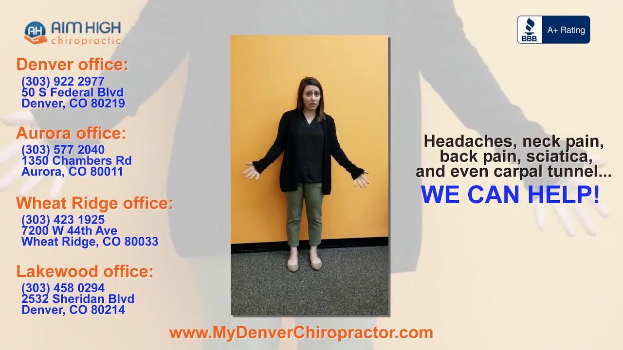 Aim High Chiropractic - New Patients Click Here