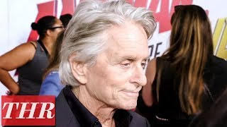 Michael Douglas on the 'Ant-Man and the Wasp' Premiere Red Carpet | THR