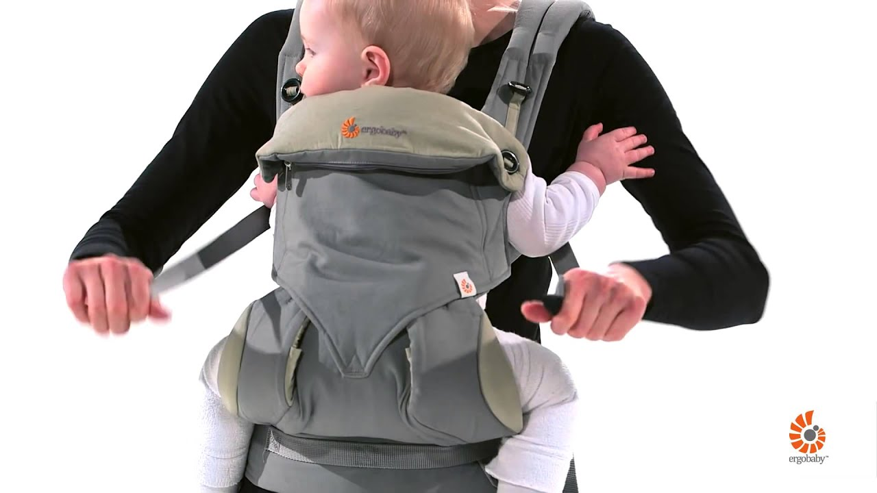 Ergobaby 360 Carrier Front Inward Carry Youtube