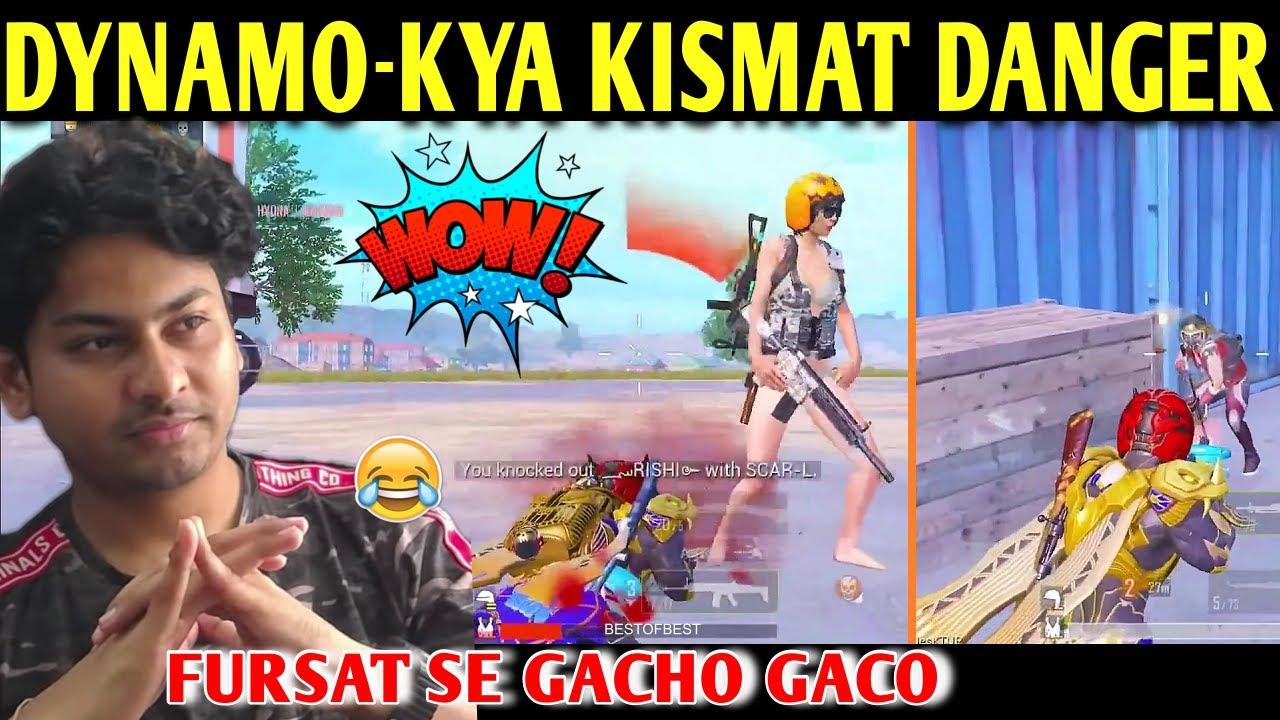 DYNAMO - KYA KISMAT HAI DANGER | BATTLEGROUNDS MOBILE INDIA | BEST OF BEST
