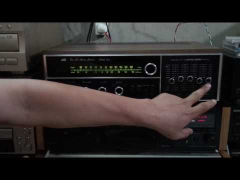 test sound Ampli receiver JVC 5010